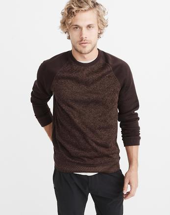 ANF Sport Sweater Fleece Crew