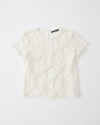 ANF Lace Tee