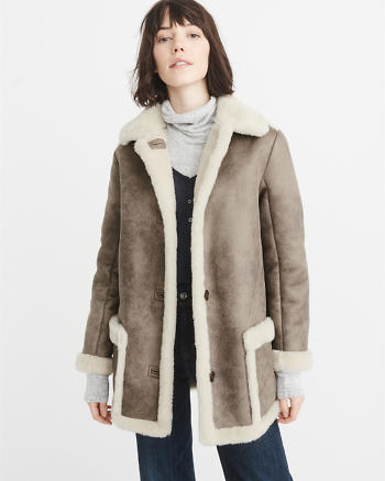 ANF Shearling Coat