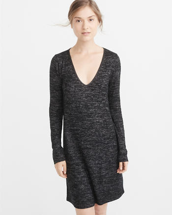 ANF Cozy V-Neck Dress