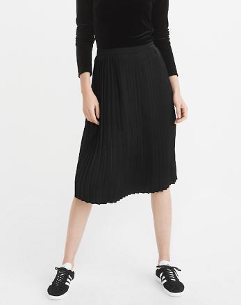 ANF Pleated Midi Skirt