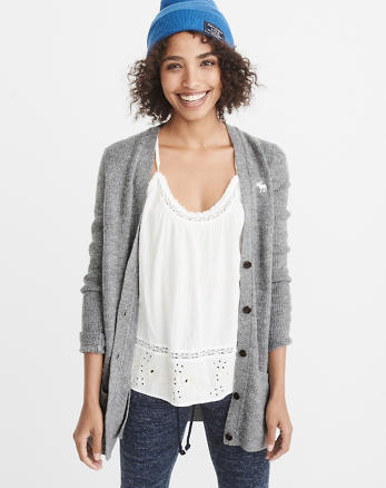 ANF Icon Shaker Cardigan