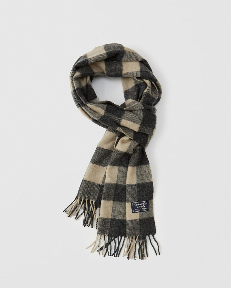 Mens - Wool-Blend Scarf | Mens - Jackets & Coats | Abercrombie.com