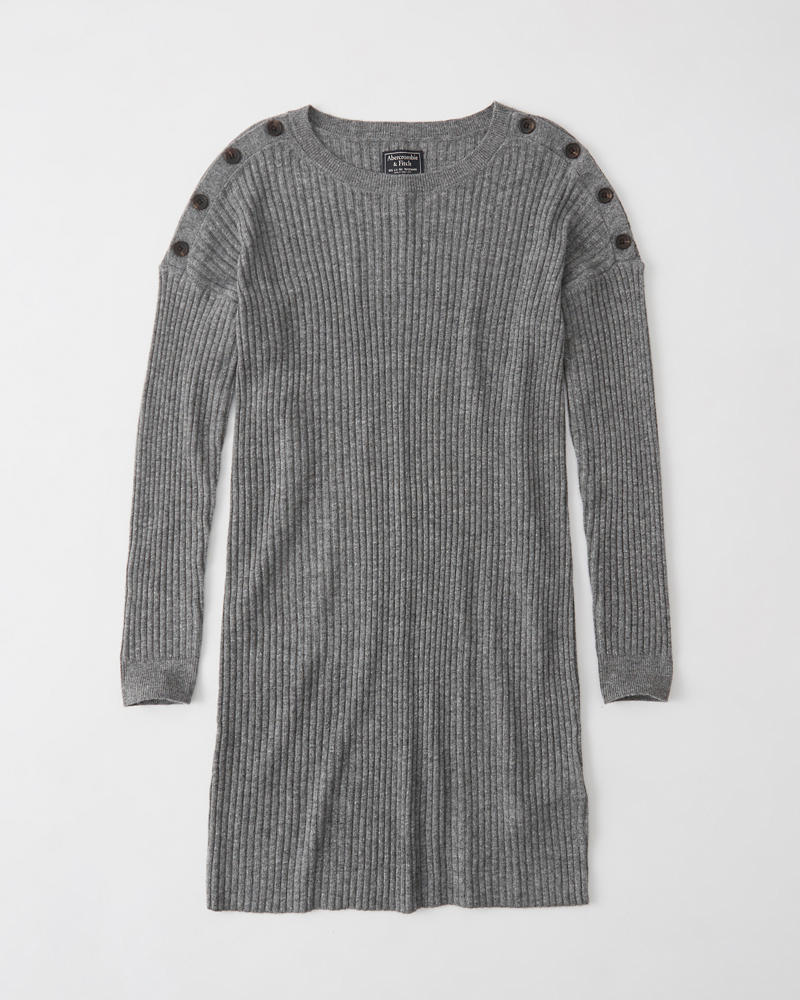 Robe Pull à épaules Boutonnées by Abercrombie & Fitch