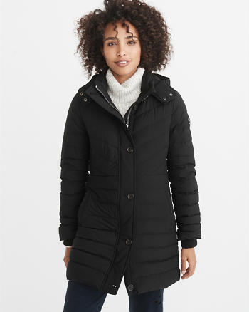 ANF Ultra Stretch Puffer-Meets-Parka