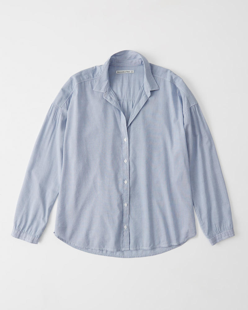 Chemise En Popeline by Abercrombie & Fitch