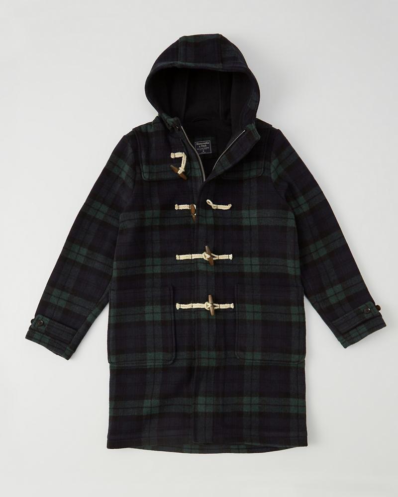 Brand new Mens Italian Wool-Blend Duffle Coat | Mens Clearance | Abercrombie.com UX87