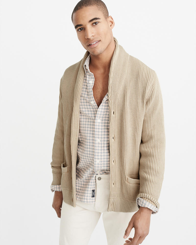 Mens Cardigan Sweaters | Abercrombie & Fitch
