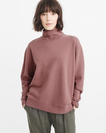 ANF Cushy Knit Turtleneck