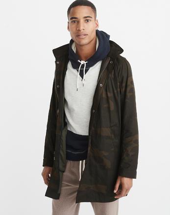 ANF Military Rain Jacket