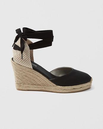 ANFSoludos Tall Wedge Sandal
