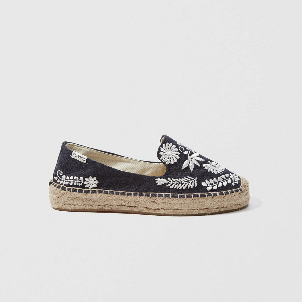 Soludos Embroidered Slipper