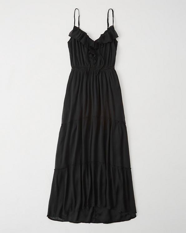 2676cd5209 Womens Ruffle Maxi Dress   Womens Sale   Abercrombie.com