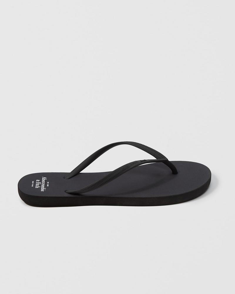 58e3958c4b4738 Womens Rubber Flip Flops
