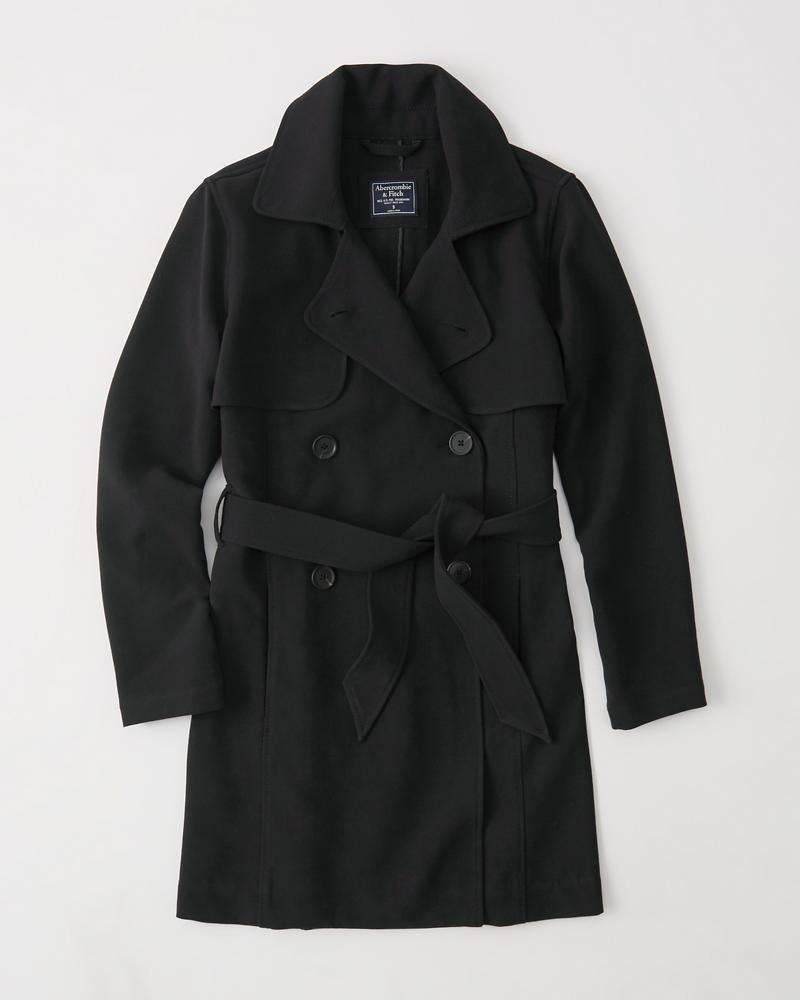 Drapey Trench Coat