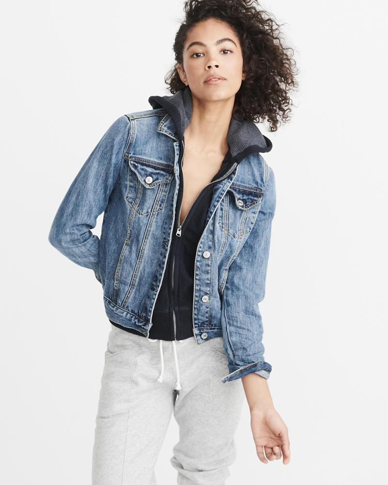 Twofer jeansjacke