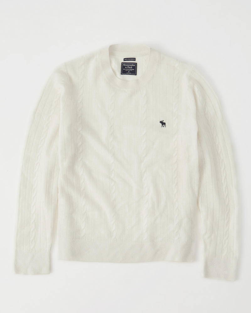 Cashmere Crew Sweater by Abercrombie & Fitch