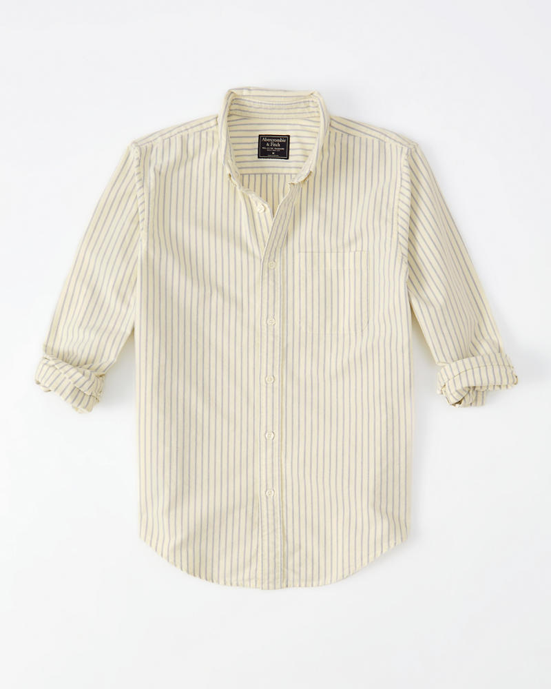 Mens Oxford Shirt Mens Sale Abercrombie Com