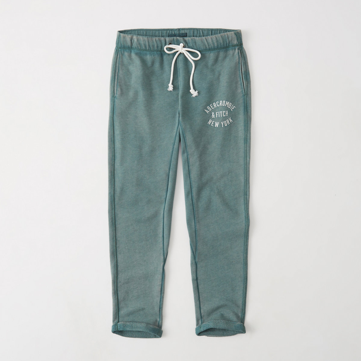 Abercrombie rolled hem sweat pants