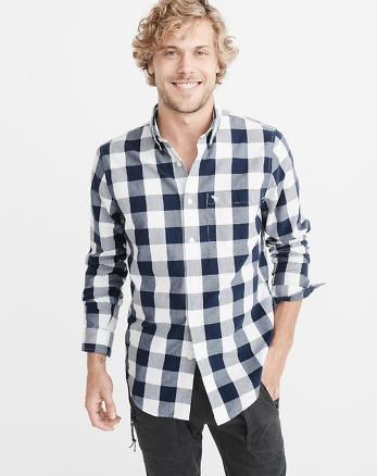ANF Icon Oxford Shirt