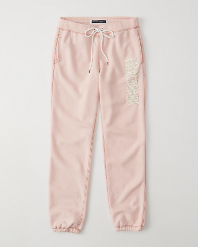 Womens - Pantalones de chándal con cinturilla y logo  73e8fba04fa59