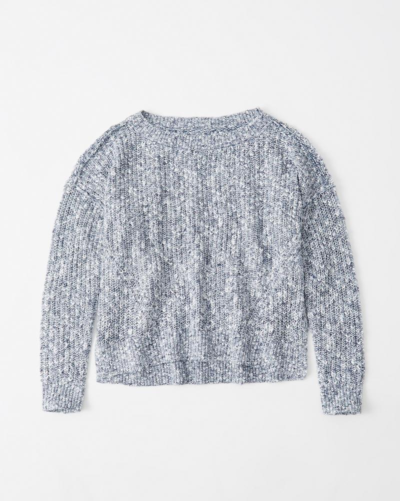 Womens Shaker Stitch Sweater | Womens Clearance | Abercrombie.com