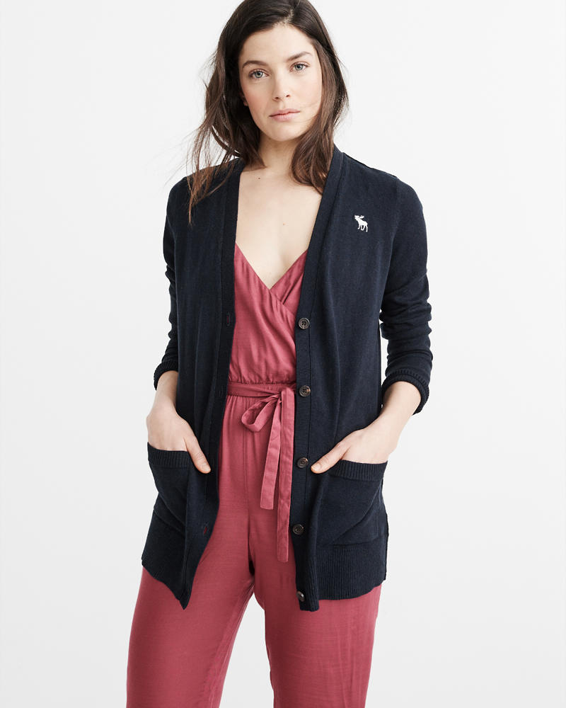 Womens Cardigan Sweaters | Abercrombie & Fitch