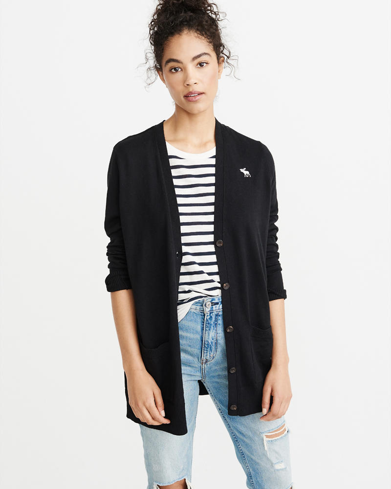 Womens V-Neck & Crew Neck Sweaters | Abercrombie & Fitch