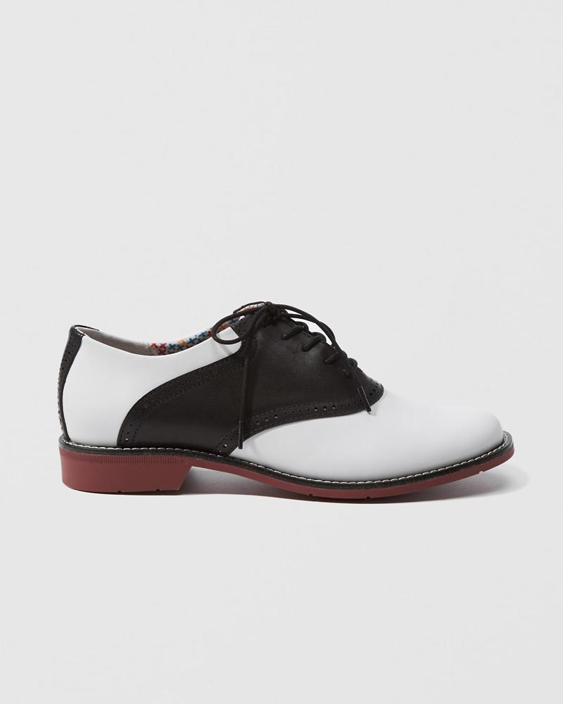585d589b0a72fe Womens Bass Saddle Shoe