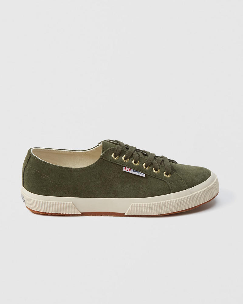 Superga Suede Sneaker by Abercrombie & Fitch