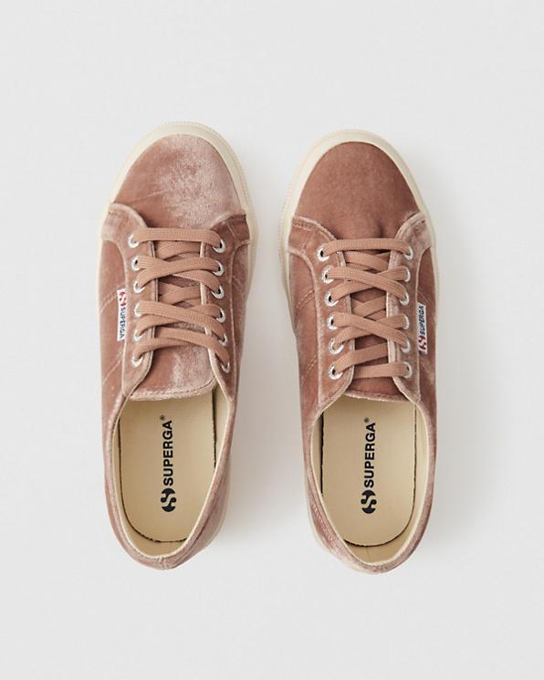 online store 47ca1 4f286 Donna Sneakers Superga in velluto | Donna Saldi ...