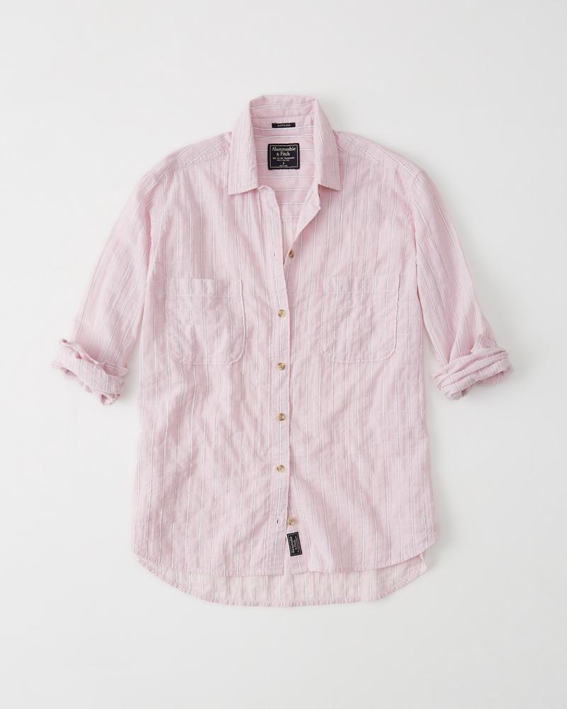 3212ace8e63 Womens Boyfriend Shirt | Womens Sale | Abercrombie.com
