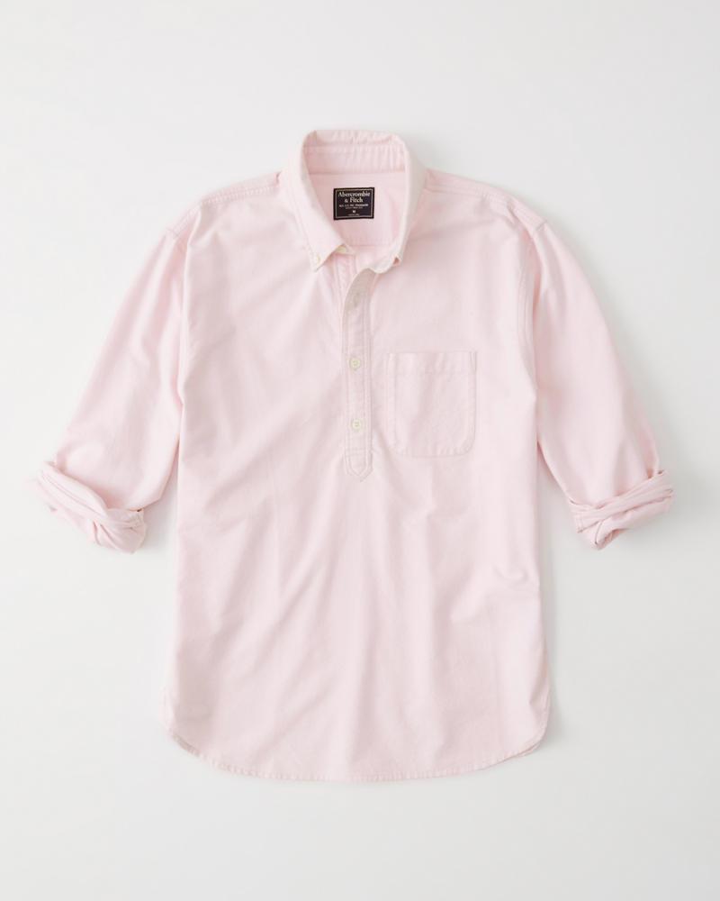 f1c4d2aa5 Mens Popover Oxford Shirt | Mens Sale | Abercrombie.com