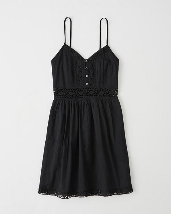 95f0e62a1 Womens Lace Pieced Skater Dress | Womens Sale | Abercrombie.com