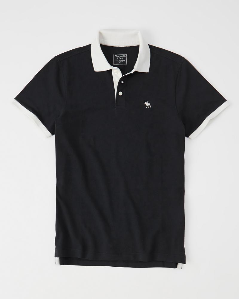 Icon Contrast Polo | Tuggl