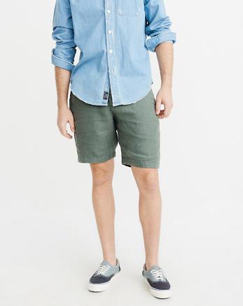ANF Linen Chino Shorts