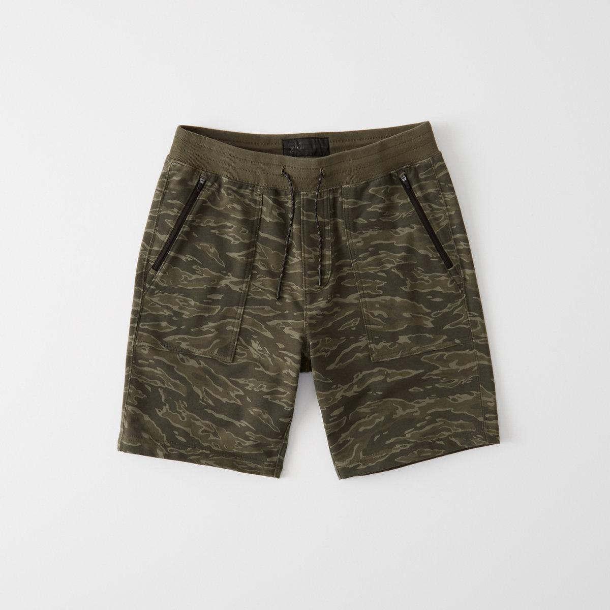 Camo Stretch Shorts