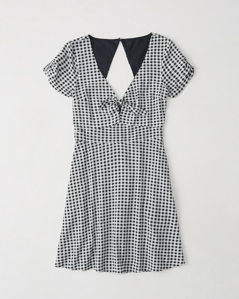 ead7ed0f554 Womens Knot Front Dress