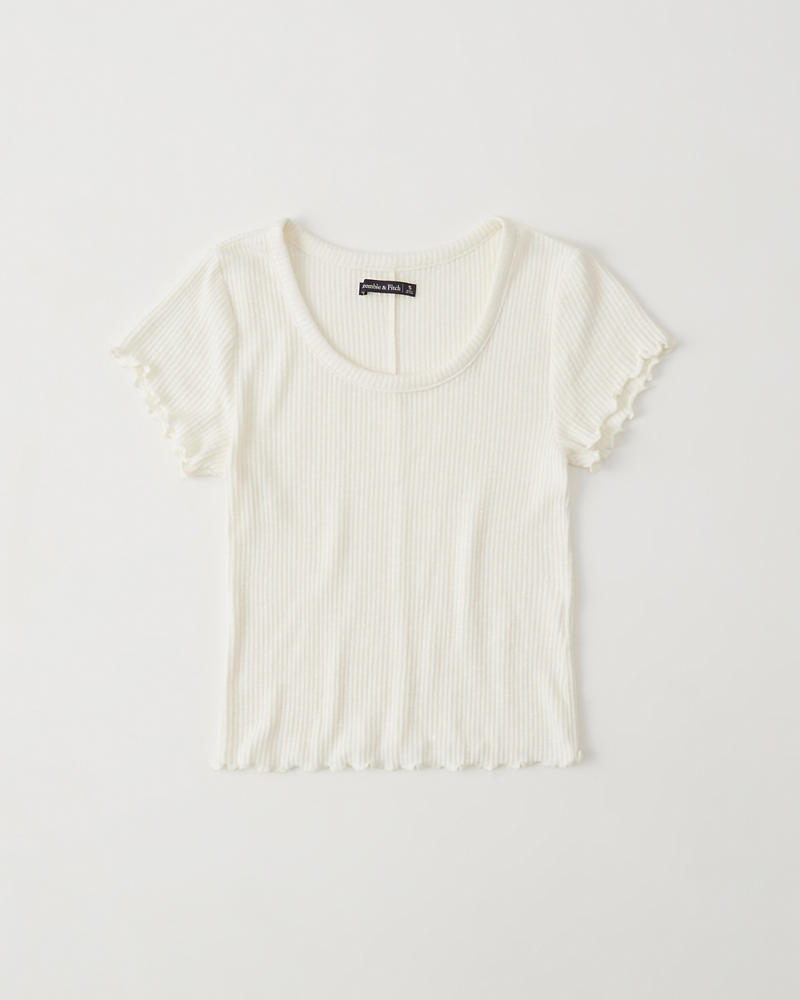 Scoopneck Tee by Abercrombie & Fitch