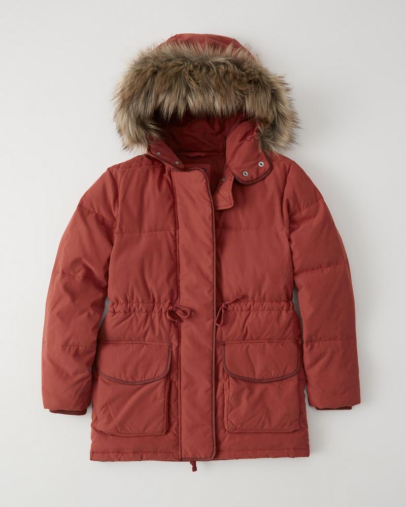 eebd3e150 Womens Faux Fur Hooded Puffer | Womens Sale | Abercrombie.com