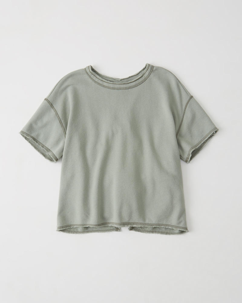 Tie Back Tee by Abercrombie & Fitch