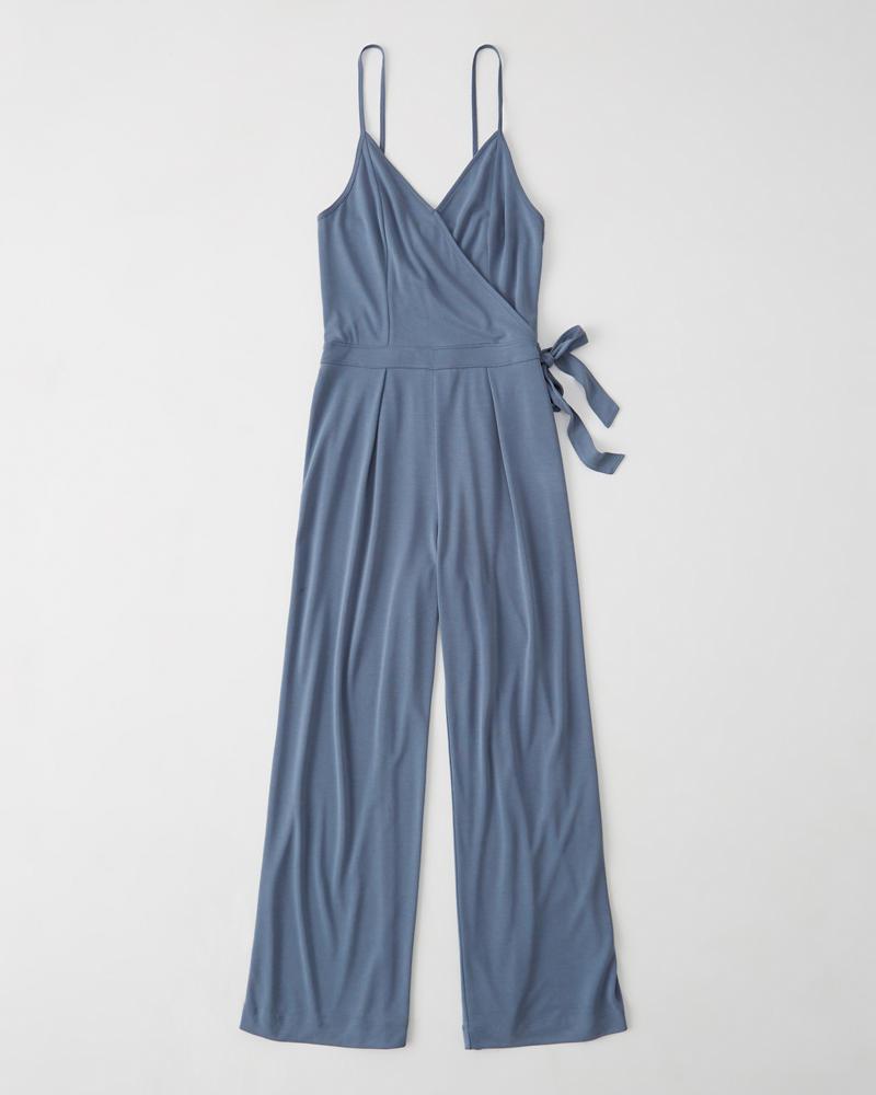 81303dea47 Dames Jumpsuit met overslag aan de voorkant
