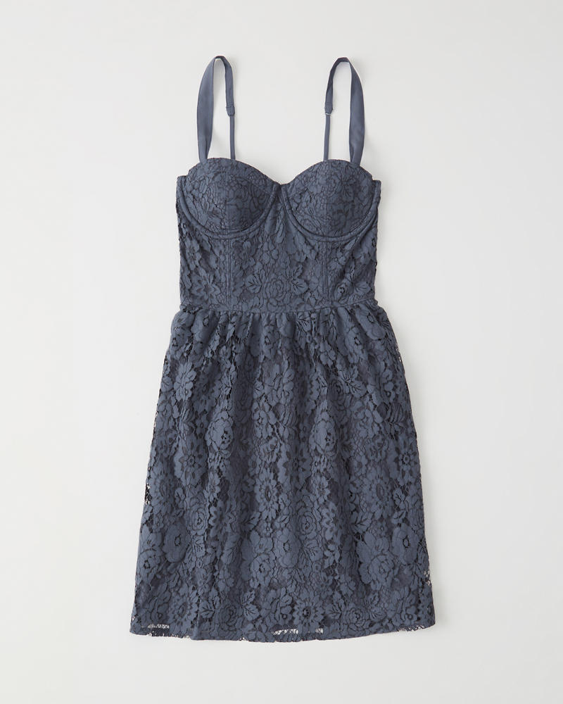 936481aaa7f11 Womens Lace Corset Dress