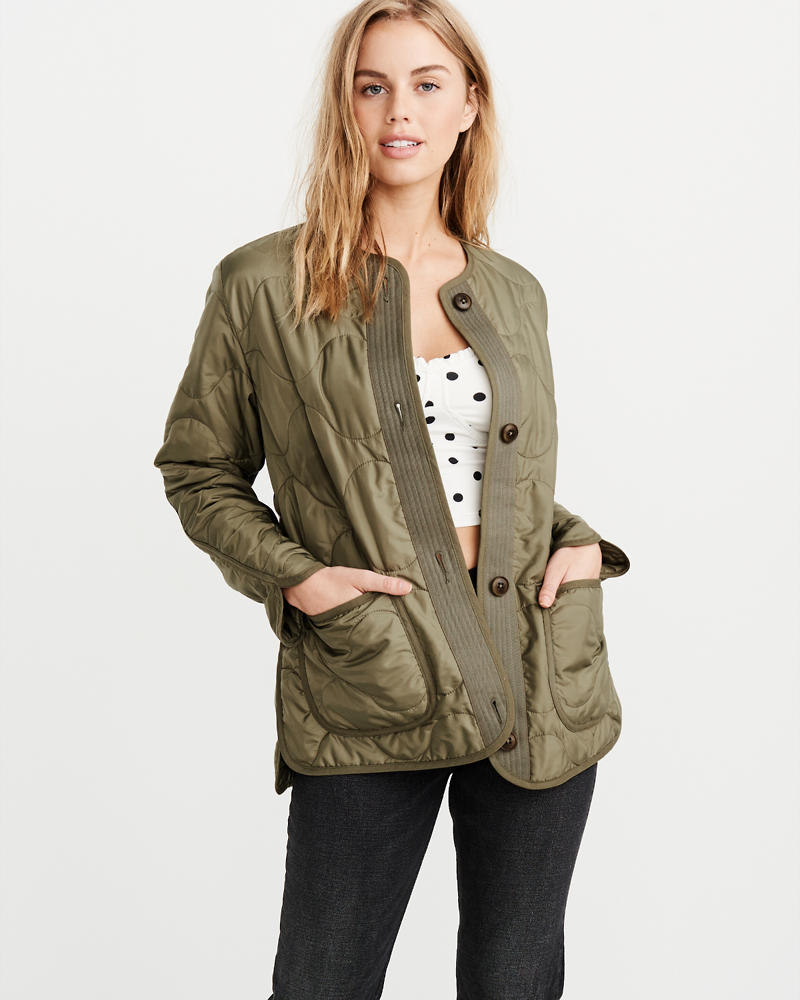 Womens Coats Jackets Abercrombie Fitch