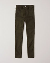 High Rise Jean Legging by Abercrombie & Fitch
