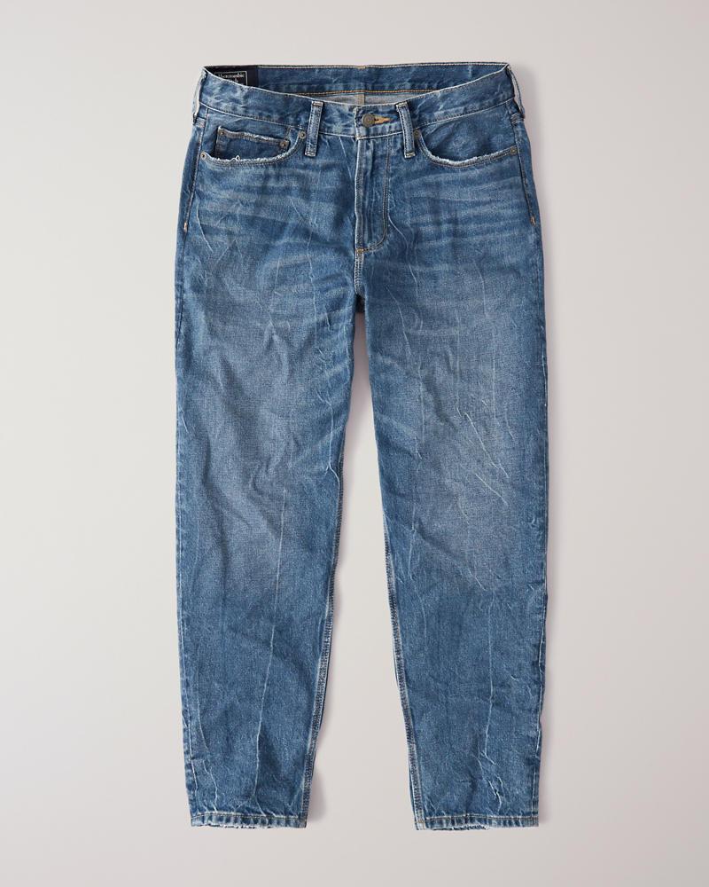 7f112c7450895f Mens High Waist Taper Jeans