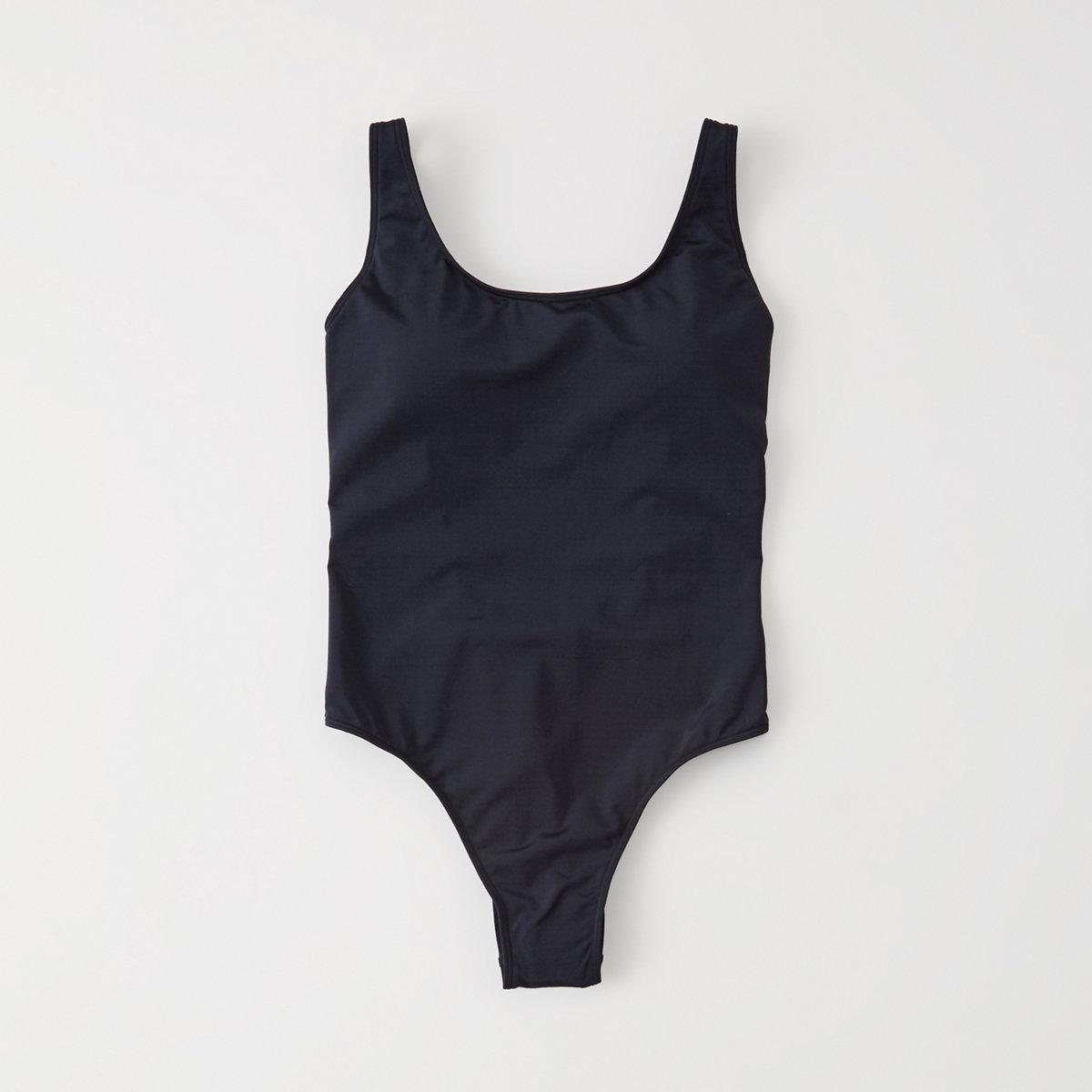 Scoopneck One Piece Swimsuit