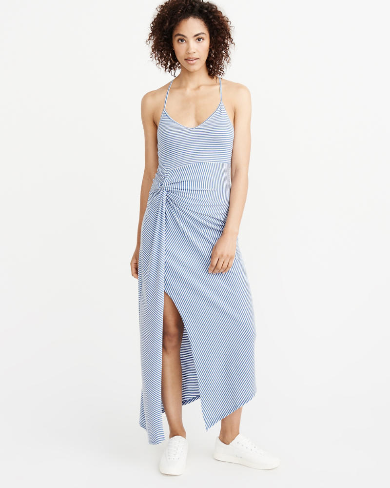 Asymmetrical Maxi Dress by Abercrombie & Fitch