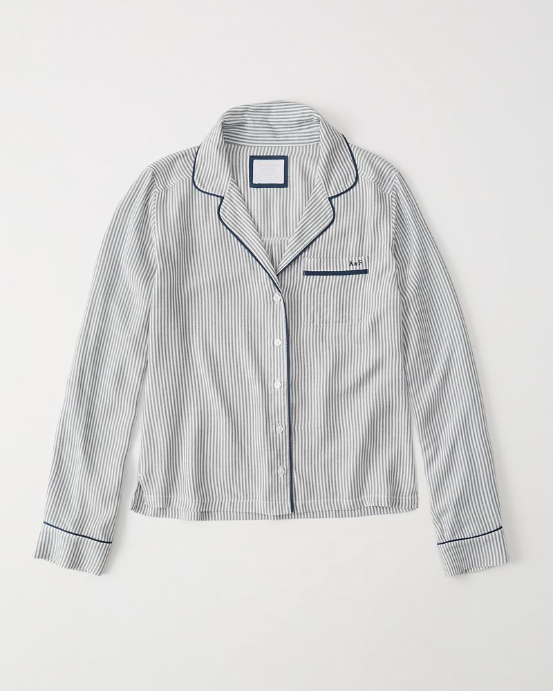 Womens Long Sleeve Sleep Shirt Up To 50 Off Select Styles Black Blazer Jaket Korea Style Sk 15 Product Image