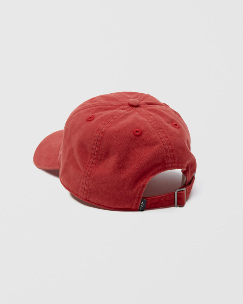 twill-logo-cap by abercrombie-&-fitch
